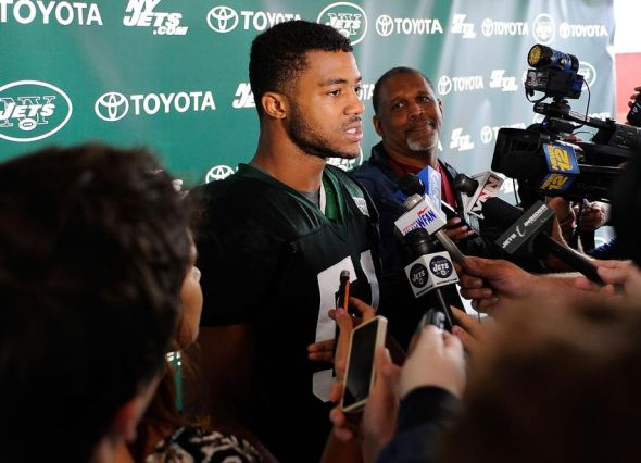Aaron Maybin Nfl New York Jets Training Camp Buffalo Bills Agree To Terms