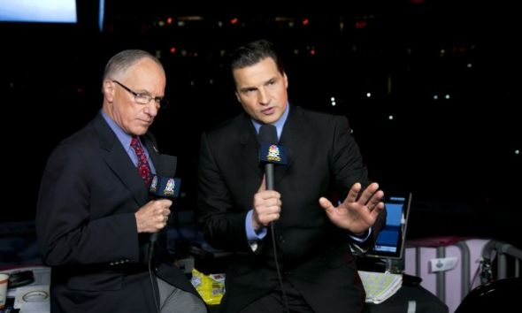 Doc Emrick (Left) and Eddie Olczyk (Right) will bring their energy to the NHL franchise