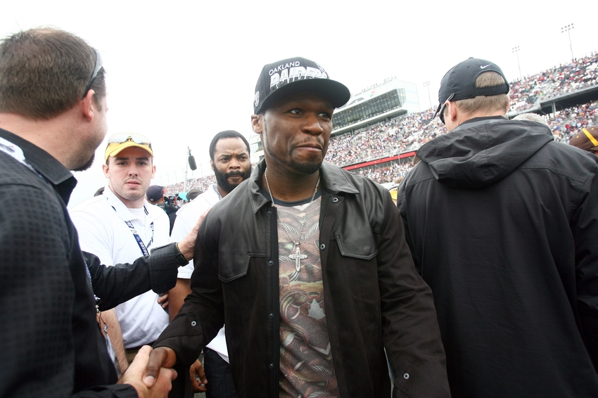 50 Cent trolls Floyd Mayweather and TI fight over Tiny (Video)