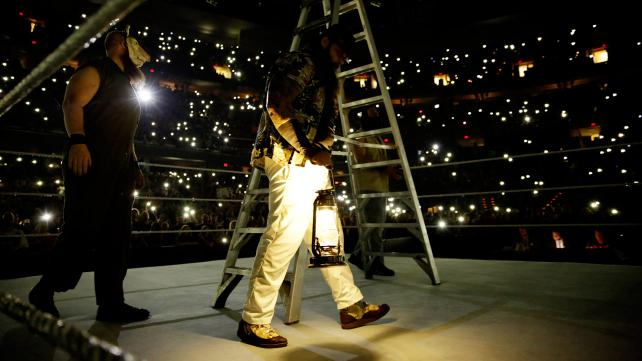 Bray's followers grow every week and his entrance is now hauntingly awesome. Photo credit: WWE.com