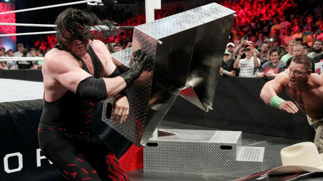 Cena wanted to make sure the RAW crowd saw the same incredible spot from Payback. Photo credit: WWE.com