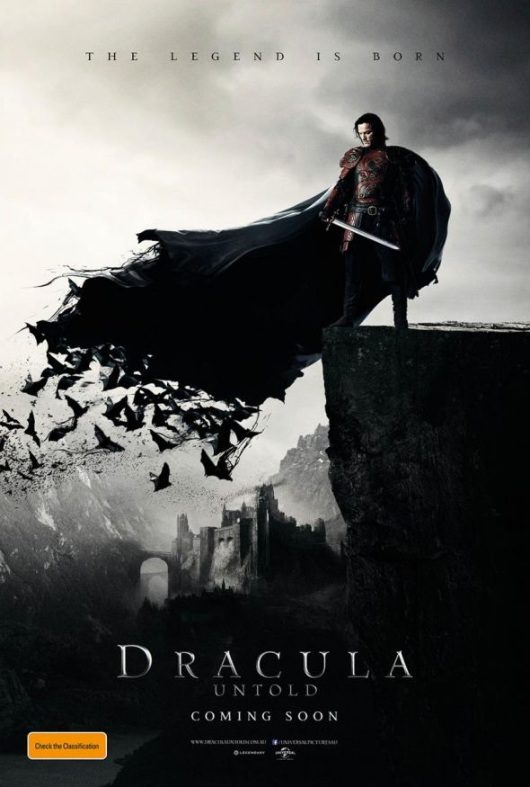 "International poster for the upcoming film ""Dracula Untold."" Photo Credit: Universal Pictures/Legendary Pictures"