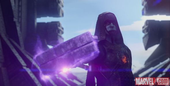 "Lee Pace as Ronan the Accuser in ""Guardians of the Galaxy."" Photo Credit: Marvel"