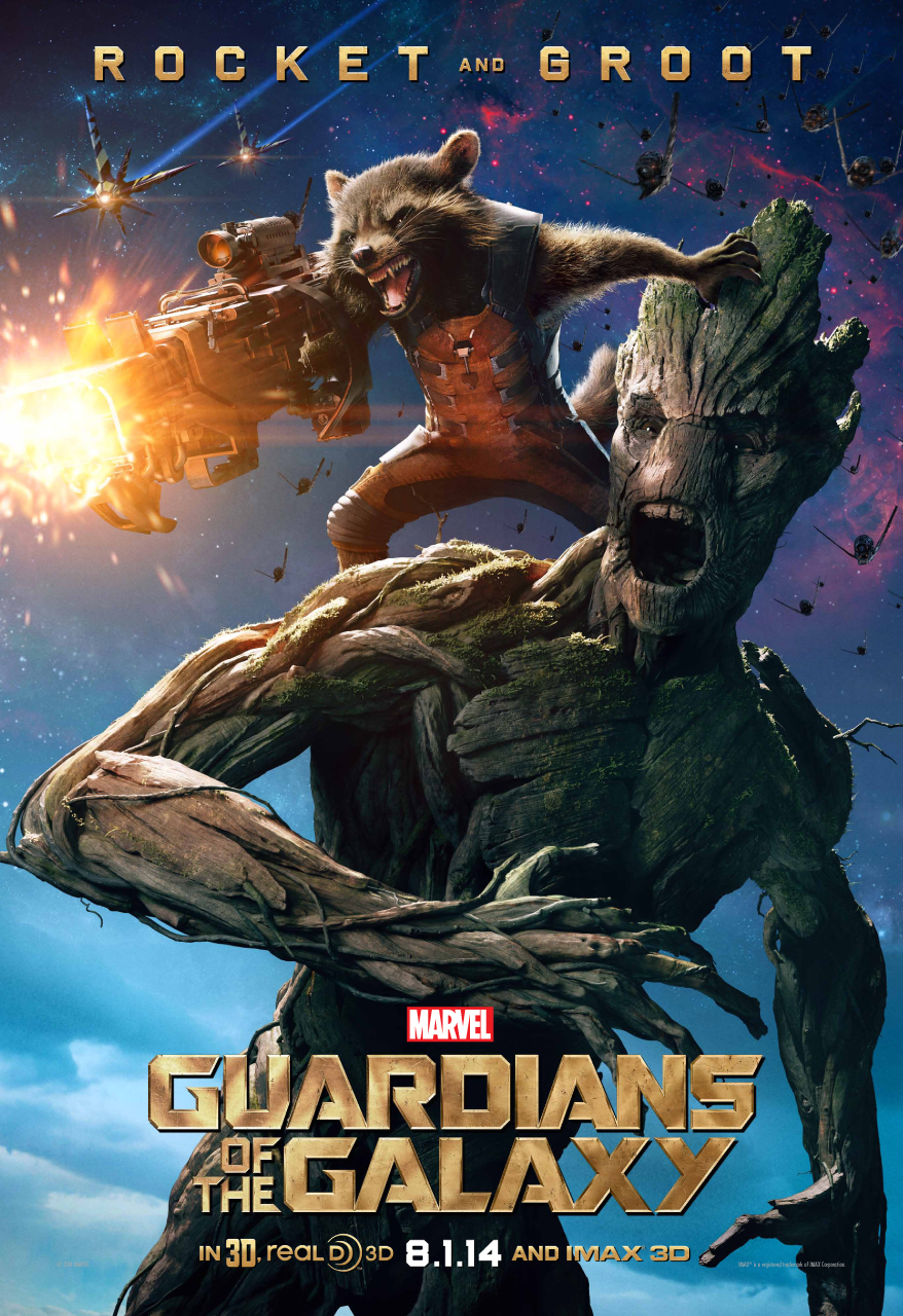 for    Guardians of the Galaxy    featuring Rocket Raccoon and GrootGuardians Of The Galaxy Characters Groot