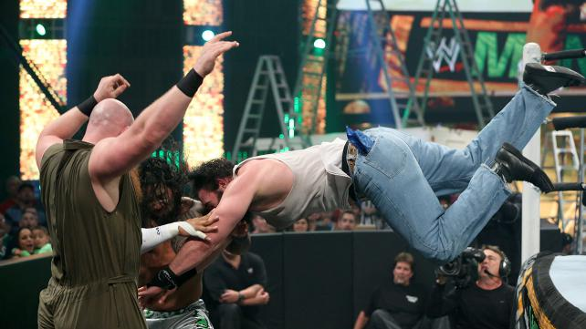 This is why you defend the tag team titles on PPV. This match was incredible. Photo credit: WWE.com