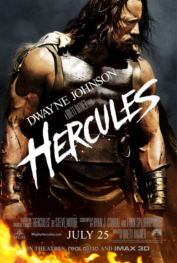 "Promotional Poster for the film ""Hercules."" Photo Credit: Paramount Pictures/MGM"
