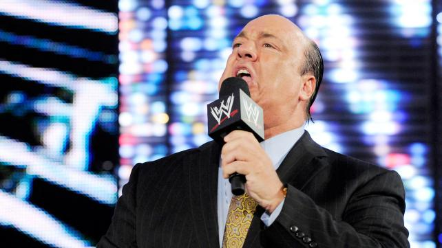 Paul Heyman silences the Chicago crowd to kick off Payback. Photo credit: WWE.com