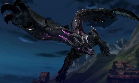 MH4U dark dragon