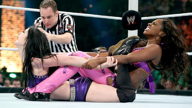 It's incredible what the divas can do when given the time to have a real match. Photo credit: WWE.com