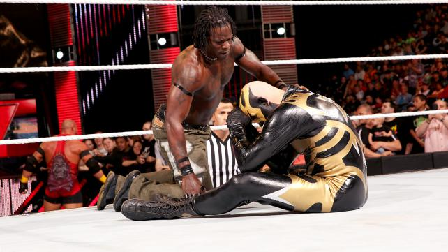 The Golden Truth was doomed to failure because R-Truth might just be the worst possible tag team partner. Photo credit: WWE.com