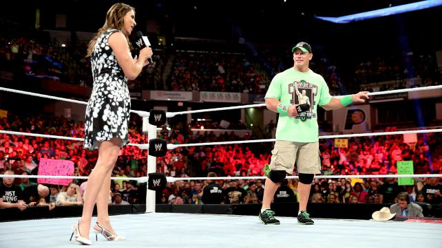 This segment would have benefited from a whole lot less Cena. Photo credit: WWE.com