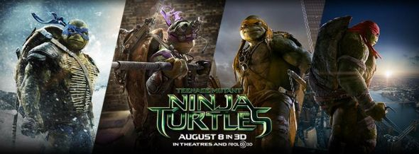 "Banner for the film ""Teenage Mutant Ninja Turtles."" Photo Credit: Paramount Pictures"