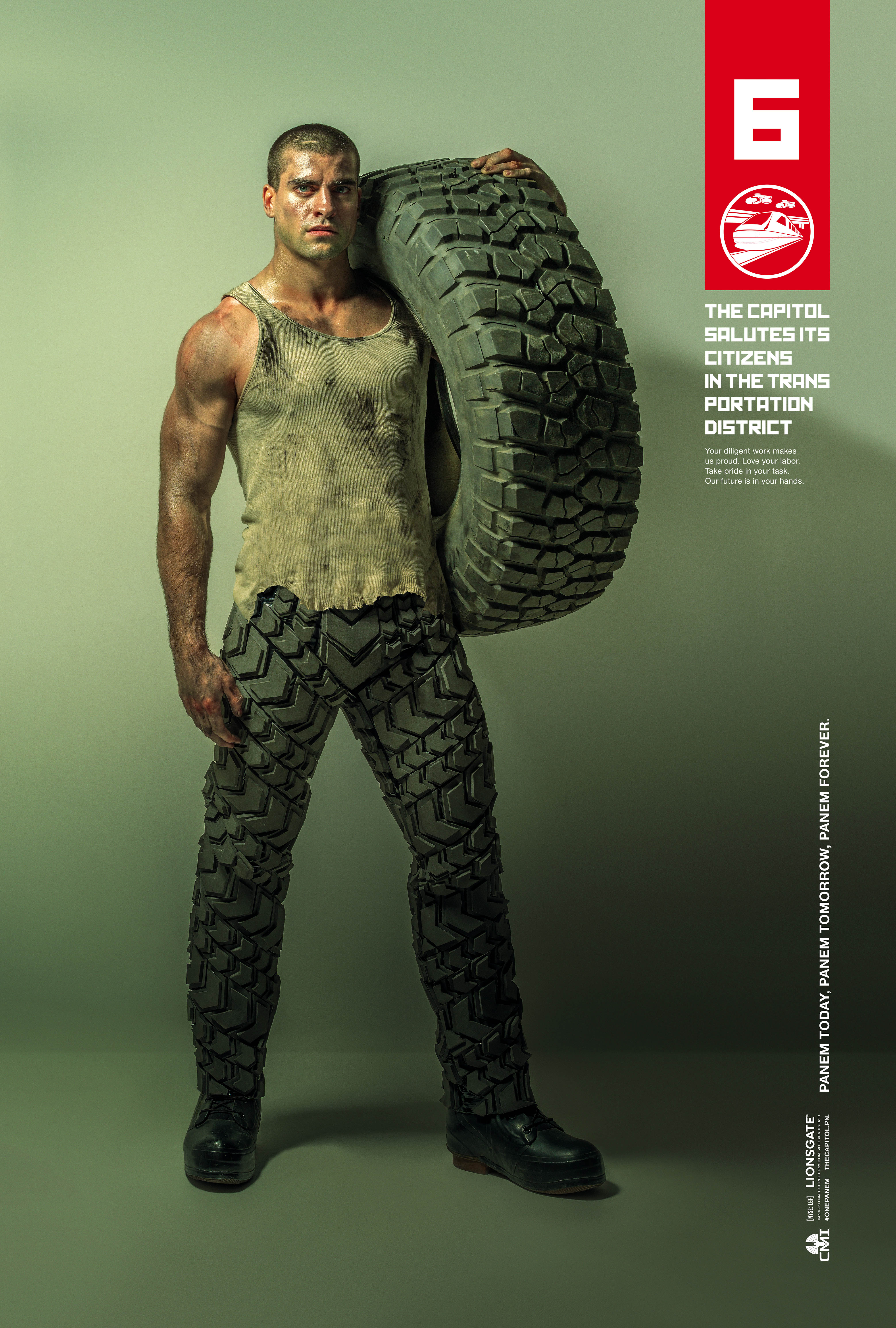 Honor the districts in new posters for The Hunger Games