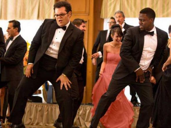 """Josh Gad and Kevin Hart as Doug and Jimmy in """"The Wedding Ringer."""" Photo Credit: Screen Gems via USA Today"""