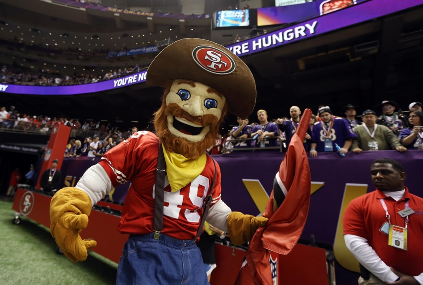 49ers mascot, Sourdough Sam, gets revamped wardrobe from ...
