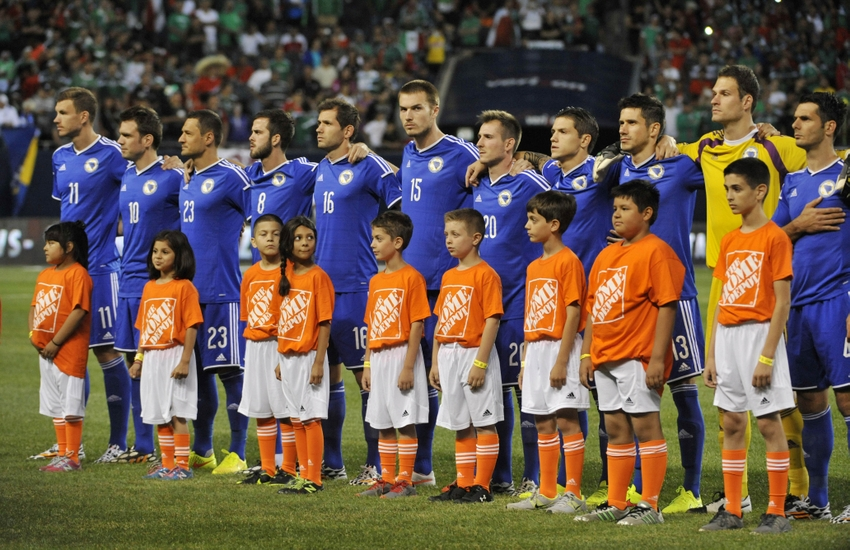 Bosnia and Herzegovina's squad in 2014