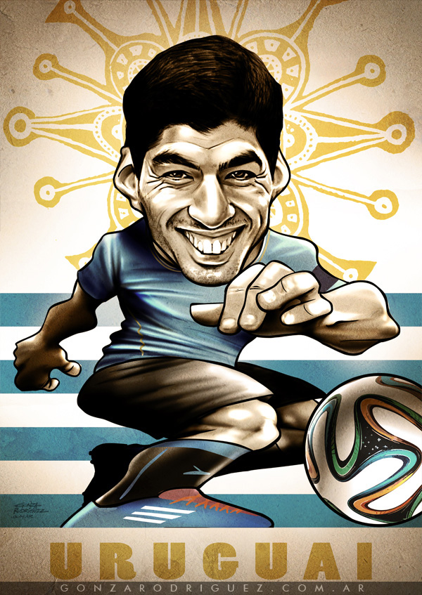 world cup 2014 best players in caricature drawings page 6