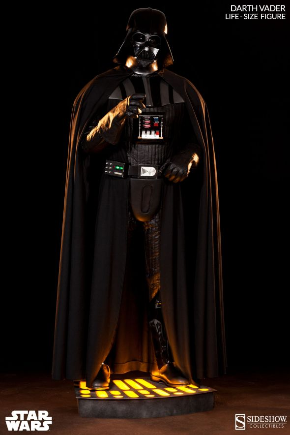 Life-sized Darth Vader Limited Edition Collectible Statue. Photo Credit: Sideshow Collectibles via IGN