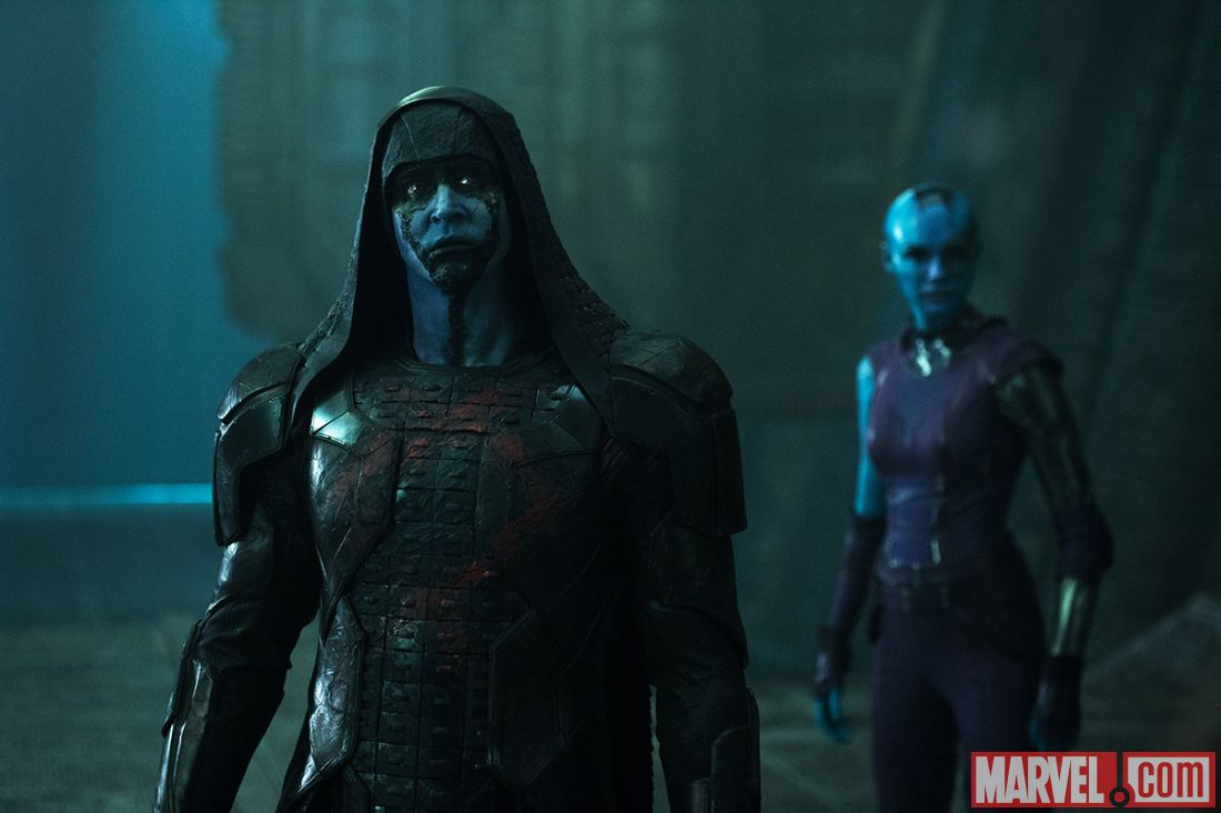 As ronan and nebula in quot guardians of the galaxy quot photo credit marvel