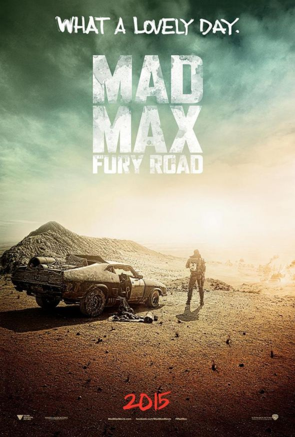"Promotional Poster for ""Mad Max: Fury Road."" Photo Credit: Warner Bros."