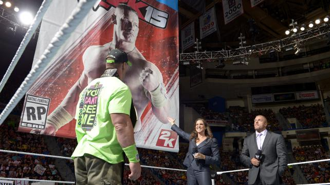 Cena is revealed as the cover for WWE 2k15 which is apparently supposed to help turn him heel. Photo credit: WWE.com