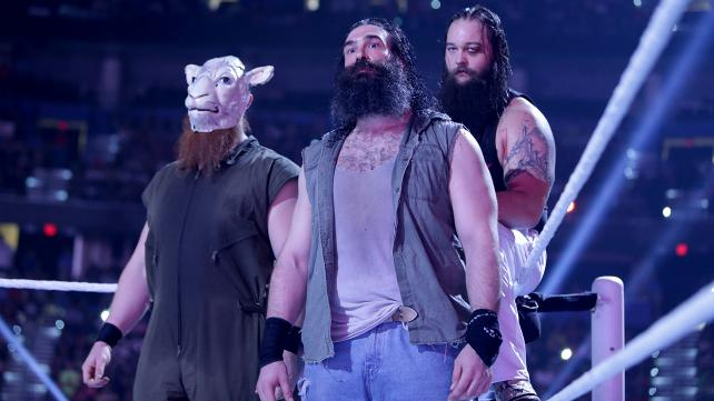 The Wyatt Family has hit a glass ceiling. With constant losses, why should anyone fear them? (Photo credit: WWE.com)