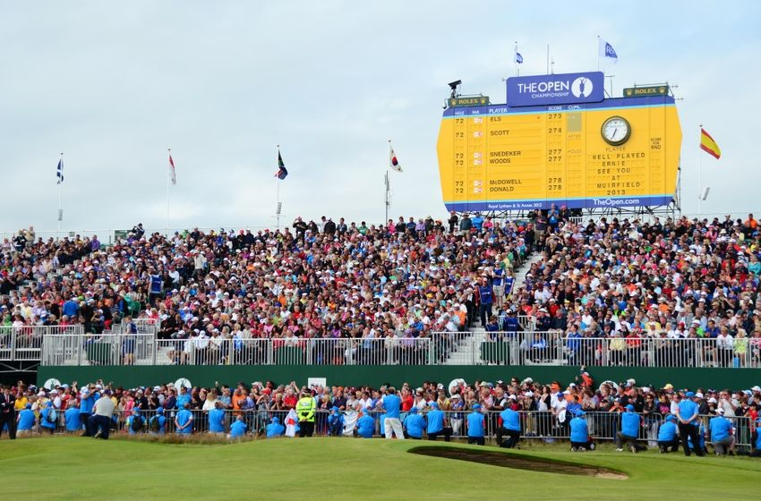 British Open leaderboard 2014: Round 1 at The Open