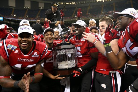 Sun Belt Football 2014: Louisiana-Lafayette unanimous pick by coaches to win conference