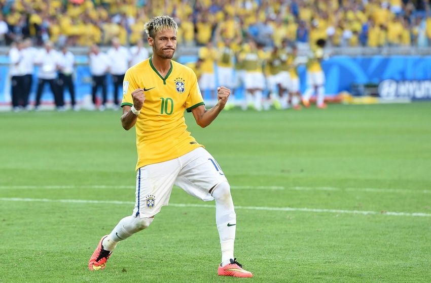Neymar is rooting for Argentina to win World CupNeymar Playing Soccer 2014