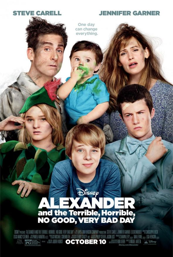 New Alexander and the Terrible, Horrible...Very Bad Day ...