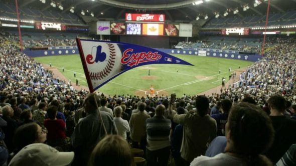 The Montreal Expos had baseball's best record and a cast of young stars when the players strike began on Aug. 12, 1994. (Image capture from youtube.com)
