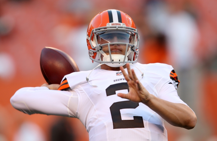 johnny manziel does first nfl money celebration after