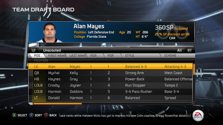 Madden 15 draft classes click for details first look at madden s new