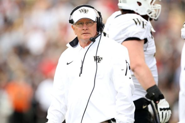 Former Wake Forest head coach Jim Grobe regrets not taking ...