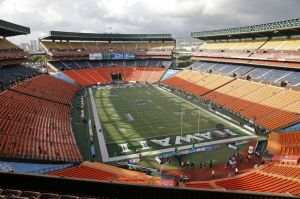 Will the Power-5 autonomy spell the end of football in Hawaii? Mandatory Credit: Marco Garcia-USA TODAY Sports