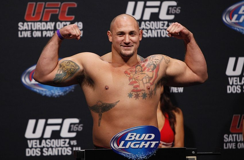 UFC Fight Night 47 results: Shawn Jordan TKOs Jack May in ...