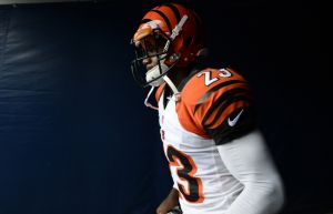Sep 8, 2013; Chicago, IL, USA; Cincinnati Bengals cornerback Terence Newman (23) before the game against the Chicago Bears at Soldier Field. Mandatory Credit: Mike DiNovo-USA TODAY Sports