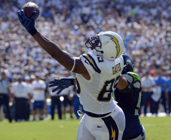 Seahawks Upset By Antonio Gates San Diego Chargers 30 21