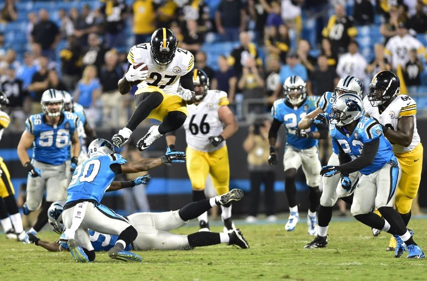Pittsburgh Steelers: Run game gashes Panthers' defense
