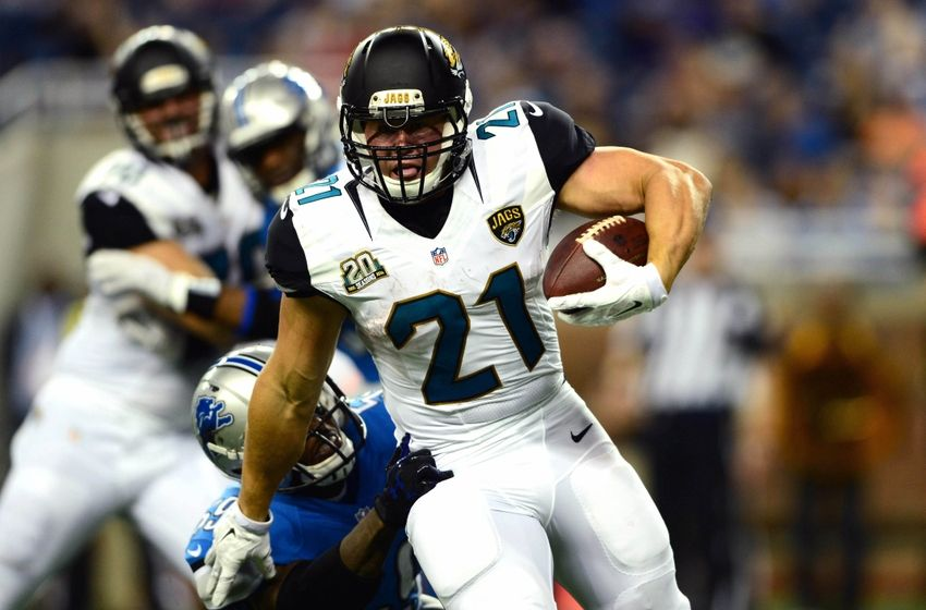 Jaguars Chargers Inactives Jags Will Have Toby Gerhart