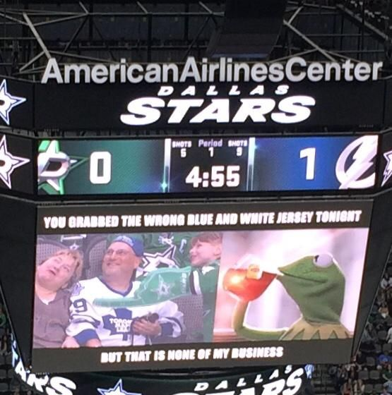 Dallas Stars Continue To Troll Toronto Maple Leafs Fans