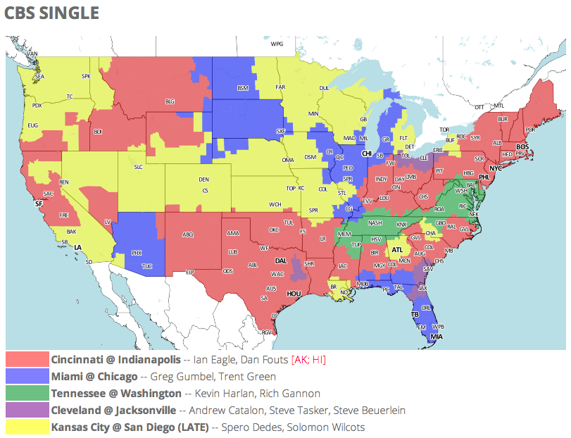 Nfl tv schedule map 28 images nfl week 14 tv schedule maps nfl tv schedule map nfl tv schedule and coverage map week 7 nfl tv schedule map publicscrutiny Image collections