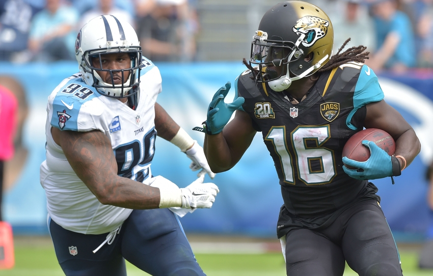 Browns vs. Jaguars Inactives: Jags Starting Denard Robinson