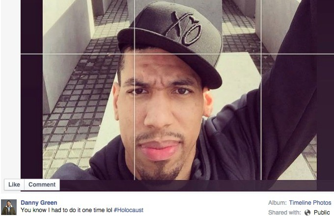 Danny Green Sparks Outrage With Questionable Instagram