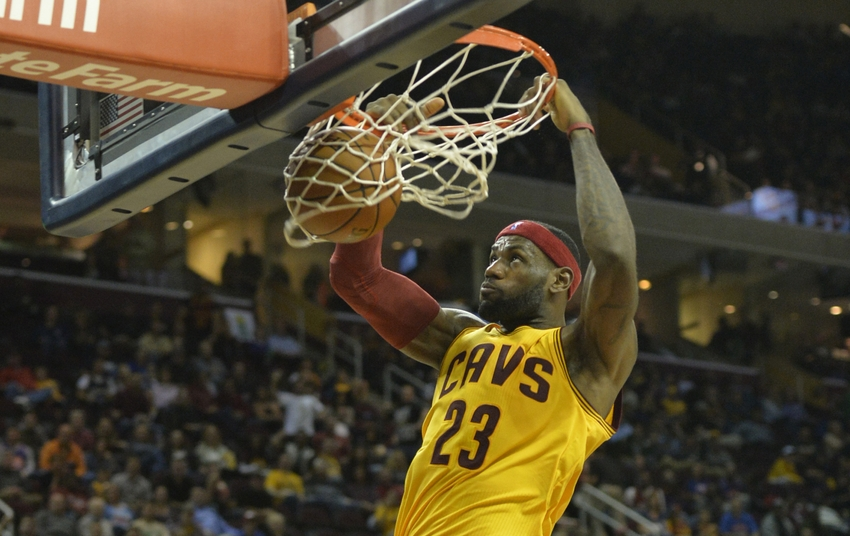 Will LeBron James be in Slam Dunk Contest this year?