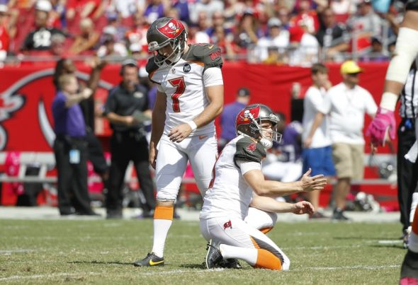 Buccaneers Kicker Nails A Long Fg With A Soccer Ball