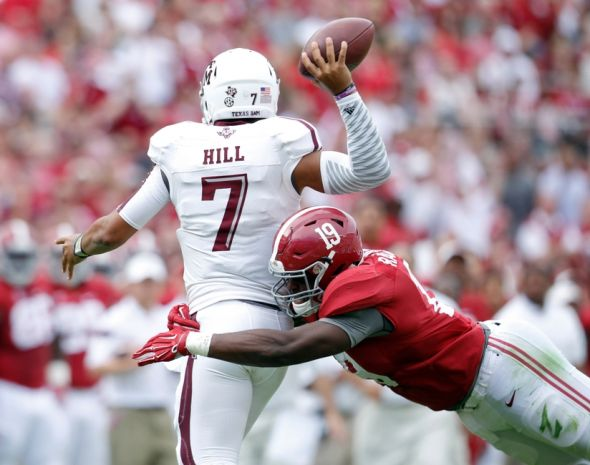 Alabama's Reggie Ragland Has INT Of The Year (Video)