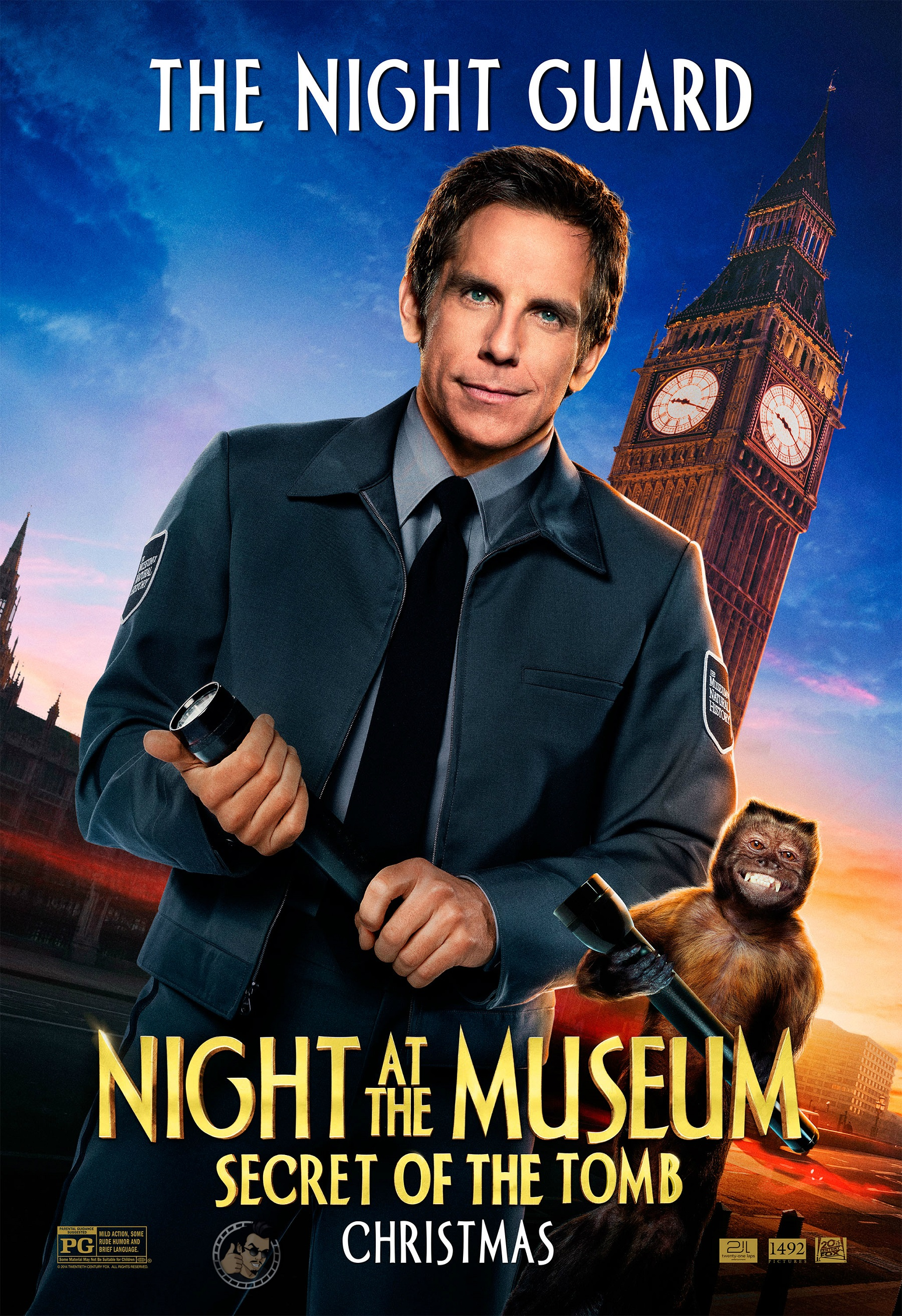 Night At The Museum Seven New Character Posters Unveiled