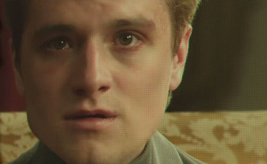 The Hunger Games: Peeta Delivers a Tearful Warning (Video)