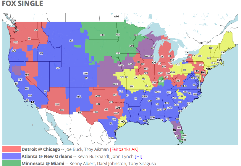 bet online football nfl tv coverage map